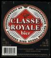 Classe Royale Bier - Frontlabel