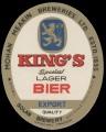 Kings special lager bier