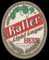 Baller light lager beer