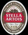 Stella Artois Preium Lager Beer - Frontlabel