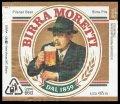 Birra Moretti Pilsner Beer - Frontlabel