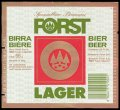 Forst Lager - Frontlabel with barcode