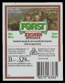 Forst Export - Backlabel with barcode