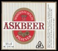 Askbeer Pilsener - Frontlabel