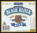 Blaue Reiter 66 cl - Frontlabel with barcode
