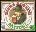 Birra Moretti Baffone - Frontlabel