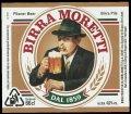 Birra Moretti - Frontlabel
