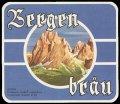 Bergen Br�u - Frontlabel
