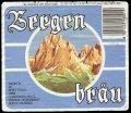 Bergen Br�u - Frontlabel with barcode
