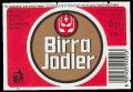 Birra Jodler - Frontlabel with barcode