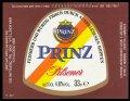 Prinz Pilsener 33 cl - Frontlabel