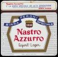 Nastro Azurro Export Lager 46 cl - Frontlabel