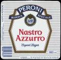 Nastro Azurro Export Lager 660 ml - Frontlabel with barcode