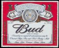 Budweiser king of Beer 33 cl - Frontlabel
