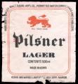 Pilsner Lager - Frontlabel