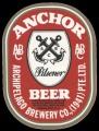 Anchor beer pilsener - Frontlabel