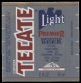 Tecate Light Premier imported beer