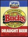 Buchanans Bucks Best Bitter Draught Beer