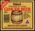 Macs Traditional old Stoney Ginger Beer