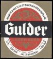 Brewed & Bottled by Nigerian Breweries Ltd. For Gulder International Limited