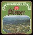 Pilsner Hovden i Setesdalen - Frontlabel