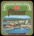 Pilsner S/S S�rlandet Kristiansand - Frontlabel