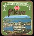 Pilsner Havnen Kristiansand - Frontlabel
