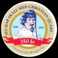 Jeg har sk�lt Christian Quart... 350 �r - Frontlabel