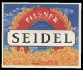 Seidel Pilsner - Frontlabel