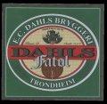 Dahls Fat�l - Frontlabel