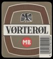 V�rter�l with barcode - Frontlabel