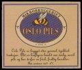 Oslo Pils - Frontlabel