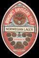 Norvegian Lager - Frontlabel