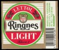 Ringnes Light - Frontlabel