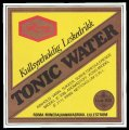 Tonic Water - Frontlabel