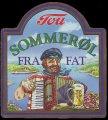 Sommer�l fra Fat - Frontlabel