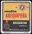 Malta Arequipe�a - Extracto de Malta