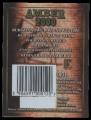 Amber 2000 - backlabel