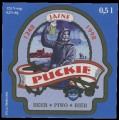 Puckie - Front label