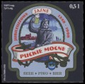 Puckie Mocne - Front label