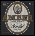 Amber gold - Front label