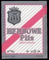 Herbowe Pils - Frontlabel