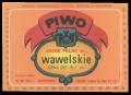 Piwo - Wawelskie Cena de6. 6,- zl