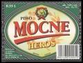 Piwo Mocne Heros - Frontlabel
