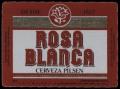 Rosa Blanca - Cerveza Pilsen