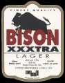Bison xxxtra Lager - Frontlabel