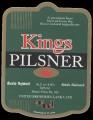 Kings Pilsner - Frontlabel