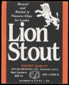 Lion Stout Export Quality