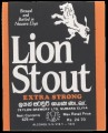 Lion Stout Extra Strong
