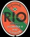 Grande Rio La Cerveza III Mas Superior - Frontlabel